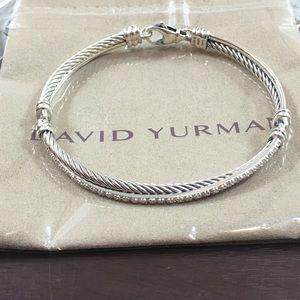 David Yurman crossover bracelet